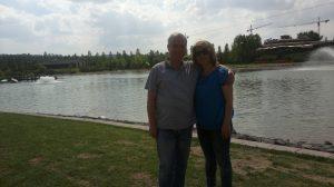 Sevgili eşimle birlikte Eskişehir gezimizden bir kare
