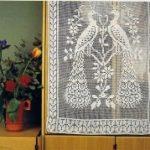 dantel perde şemalı resimleri (10)