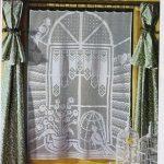 dantel perde şemalı resimleri (15)