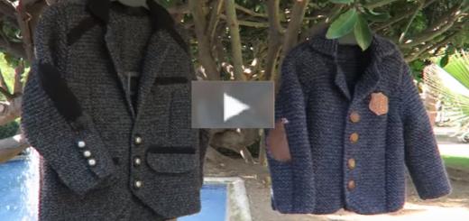 örgüden hazı gibi görünenr blazer ceket modeli