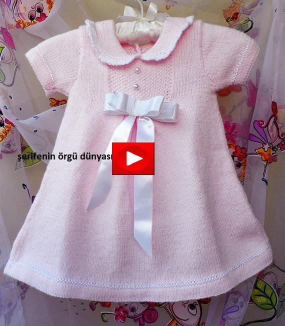 0740e6f5e0f7f En Güzel Kız Bebek Elbise Modelleri
