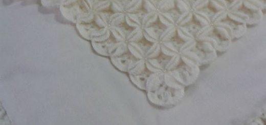 tığ işi incili bebek battanitesi (2)