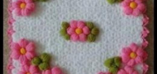 çiçekli lif modeli