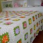 örgü yatak örtüsü modelleri (1)