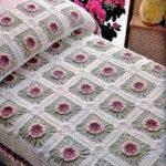 örgü yatak örtüsü modelleri (12)