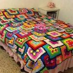 örgü yatak örtüsü modelleri (28)