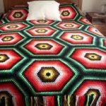 örgü yatak örtüsü modelleri (34)