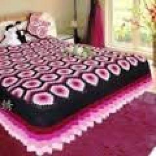 örgü yatak örtüsü modelleri (40)