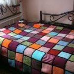 örgü yatak örtüsü modelleri (41)