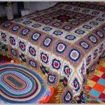 örgü yatak örtüsü modelleri (50)