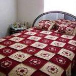 örgü yatak örtüsü modelleri (53)