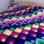 örgü yatak örtüsü modelleri (56)