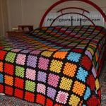 örgü yatak örtüsü modelleri (60)