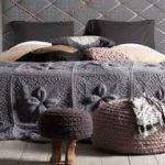 örgü yatak örtüsü modelleri (9)