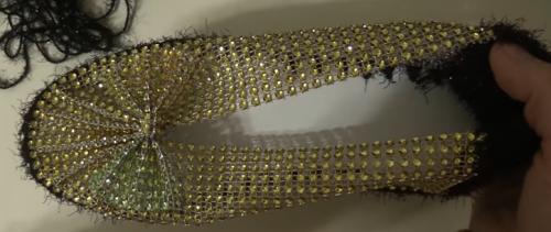 Çeyizlik Keçe Tabanlı Boncuklu Patik Yapımı Videosu