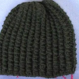 oluklu bambu modeli şapka