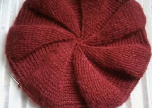 rüzgar gülü şapka modeli