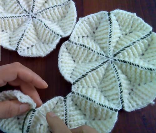 Fıstıklı Bebek Battaniye Motifi Yapılışı Türkçe Videolu