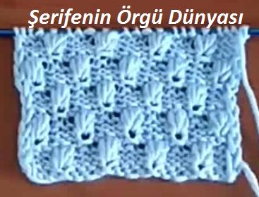 çam fıstığı örgü modeli (1)
