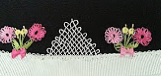 çiçek buketi iğne oyası modeli (2)
