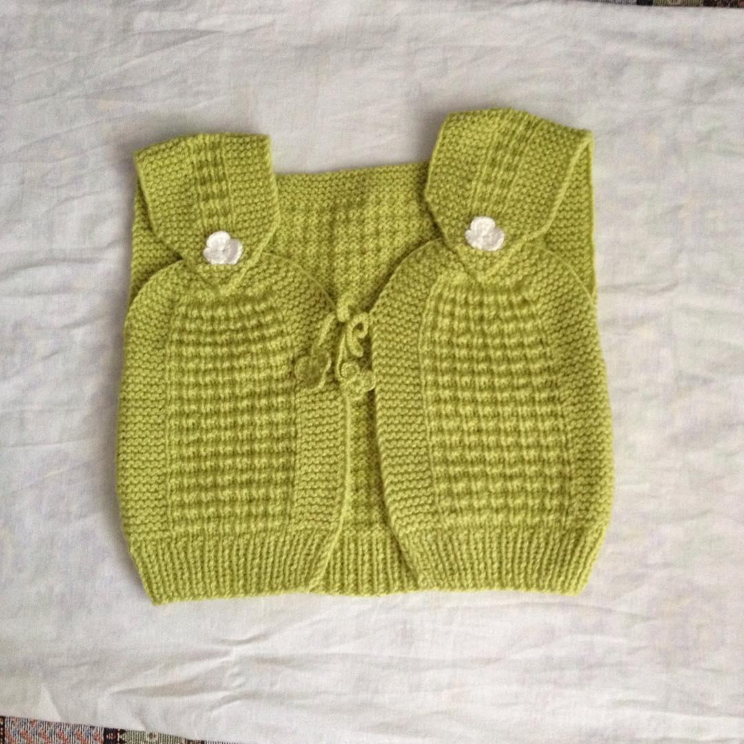 6 Aylık Bebek Yeleği Yapılışı