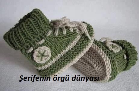 iki renkli erkek bebek botu modeli (1)