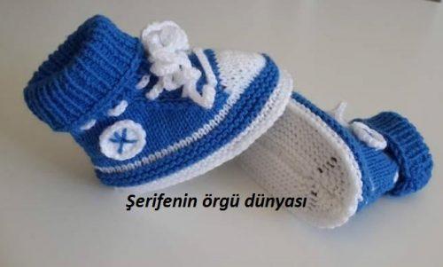 iki renkli erkek bebek botu modeli (6)