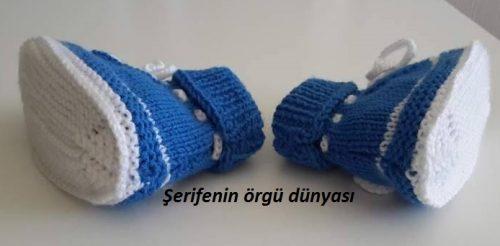 iki renkli erkek bebek botu modeli (7)