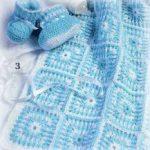 tığ işi örgü bebek battaniye modelleri (15)