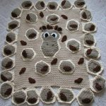 tığ işi örgü bebek battaniye modelleri (24)
