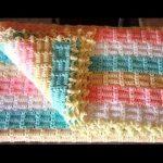 tığ işi örgü bebek battaniye modelleri (28)