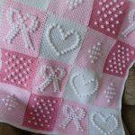 tığ işi örgü bebek battaniye modelleri (3)