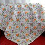 tığ işi örgü bebek battaniye modelleri (33)