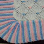 tığ işi örgü bebek battaniye modelleri (41)