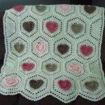 tığ işi örgü bebek battaniye modelleri (47)