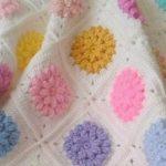 tığ işi örgü bebek battaniye modelleri (50)