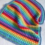 tığ işi örgü bebek battaniye modelleri (57)