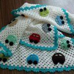 tığ işi örgü bebek battaniye modelleri (63)