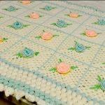 tığ işi örgü bebek battaniye modelleri (66)