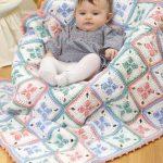 tığ işi örgü bebek battaniye modelleri (67)