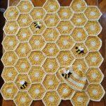 tığ işi örgü bebek battaniye modelleri (7)