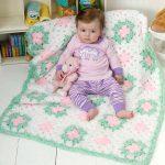 tığ işi örgü bebek battaniye modelleri (9)