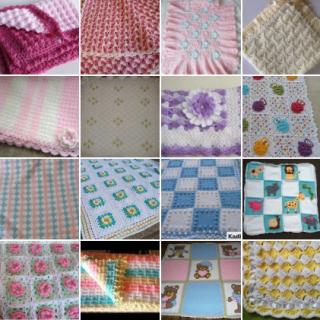 tığ işi bebek battaniy emodelleri