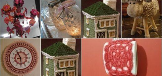 örgü ev dekor modelleri