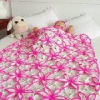 dilber dudağı battaniye motifi