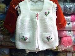 en şirin bebek yelek süveter modelleri (12)