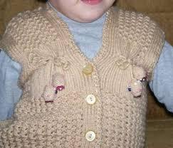 en şirin bebek yelek süveter modelleri (33)
