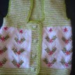 en şirin örgü bebek yelekleri (4)