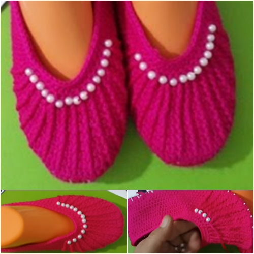 ev ayakkabısı şeklinde patik modeli.4