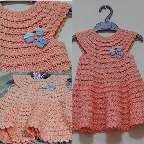 kız bebek elbise modeli